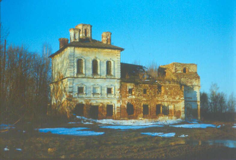 Церковь Троицы Живоначальной, Милюшино (Подъяблонный погост)
