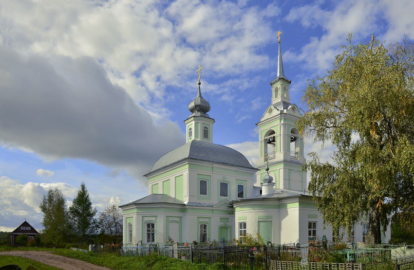 Церковь Николая Чудотворца, Незнаново