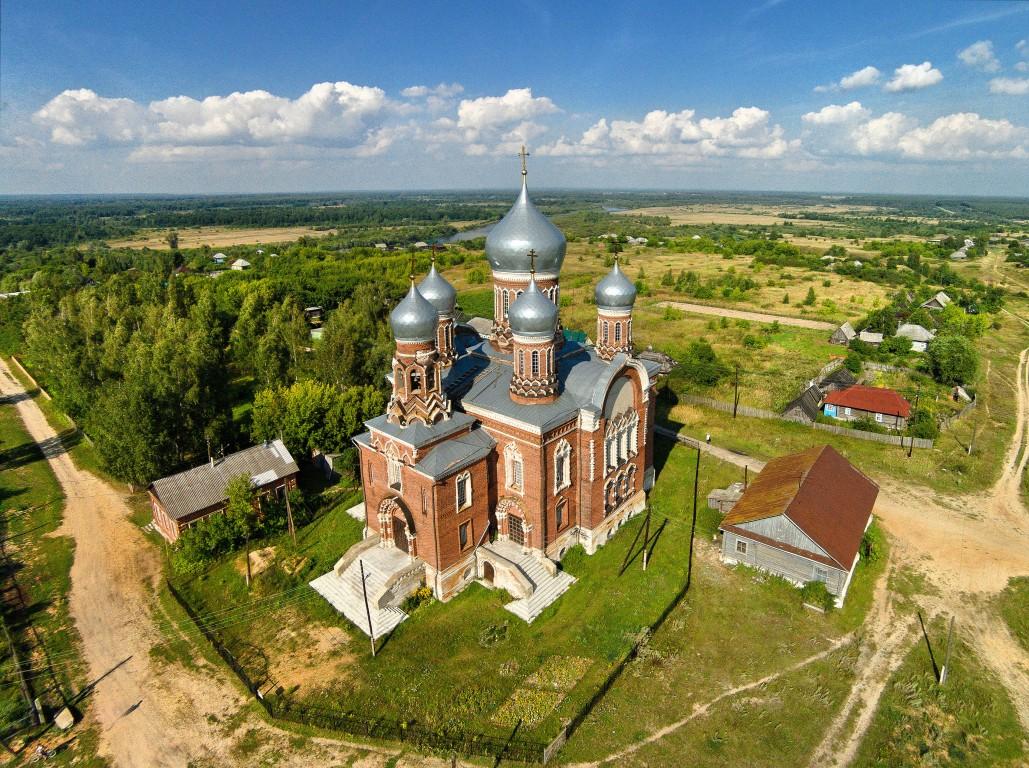 Церковь Николая Чудотворца-Котелино-Кадомский район-Рязанская область