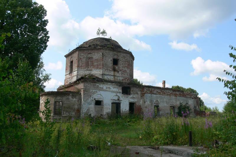 Церковь Вознесения Господня, Дубровка