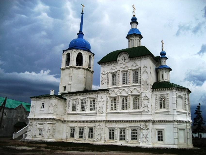 Посольский Спасо-Преображенский монастырь. Собор Спаса Преображения, Посольское