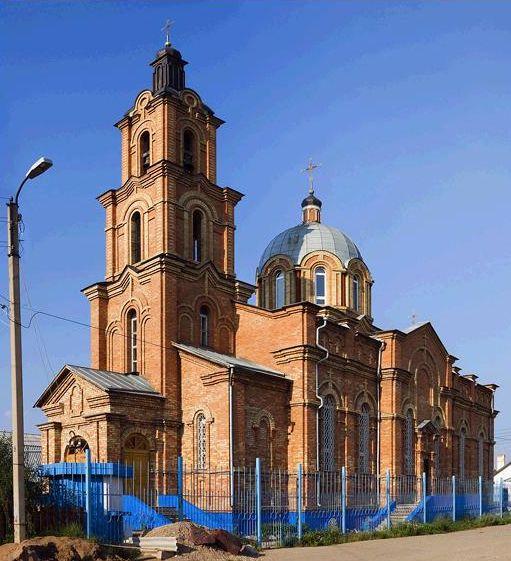 Церковь Смоленской иконы Божией Матери - Октябрьский - Туймазинский район и