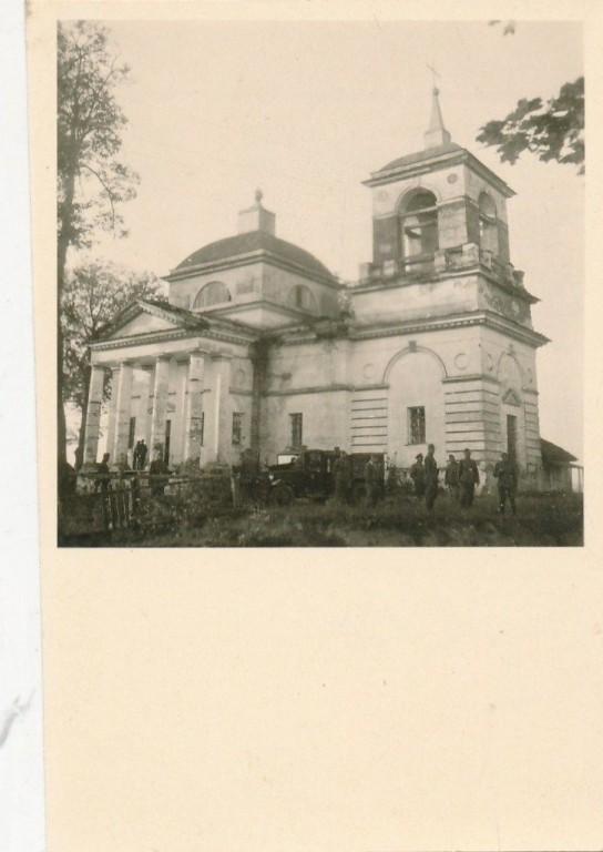 Церковь Вознесения Господня, Великий Бор