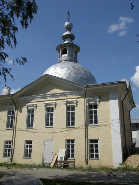 Спасо-Прилуцкий мужской монастырь. Больничный храм Всех Святых, Прилуки