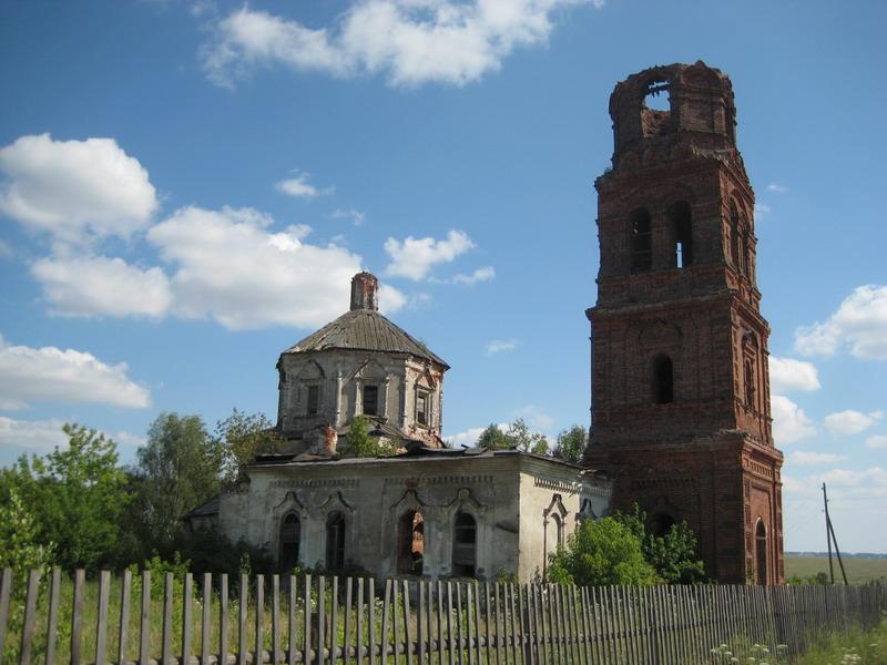 Церковь Троицы Живоначальной, Леметь