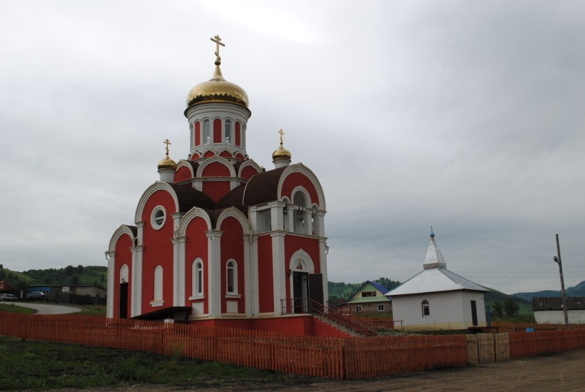 Церковь Николая Чудотворца, Солонешное