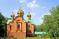 Ачаирский монастырь. Церковь Димитрия Солунского - Набережный - Омский район - Омская область