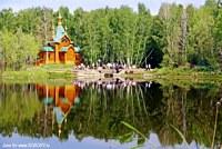 Ачаирский монастырь. Церковь Иоанна Предтечи - Набережный - Омский район - Омская область