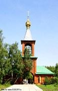 Ачаирский монастырь. Церковь Анастасии Узорешительницы - Набережный - Омский район - Омская область
