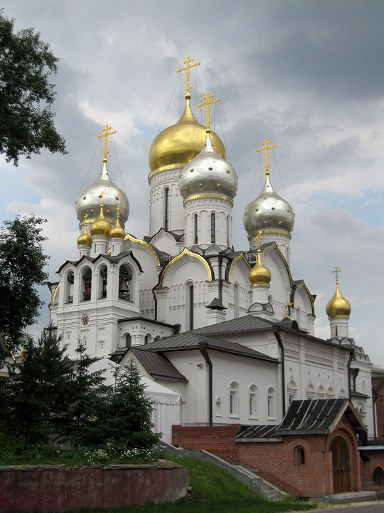 Зачатьевский монастырь. Собор Рождества Пресвятой Богородицы, Москва