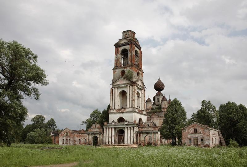 Церковь Николая Чудотворца-Веска-Борисоглебский район-Ярославская область