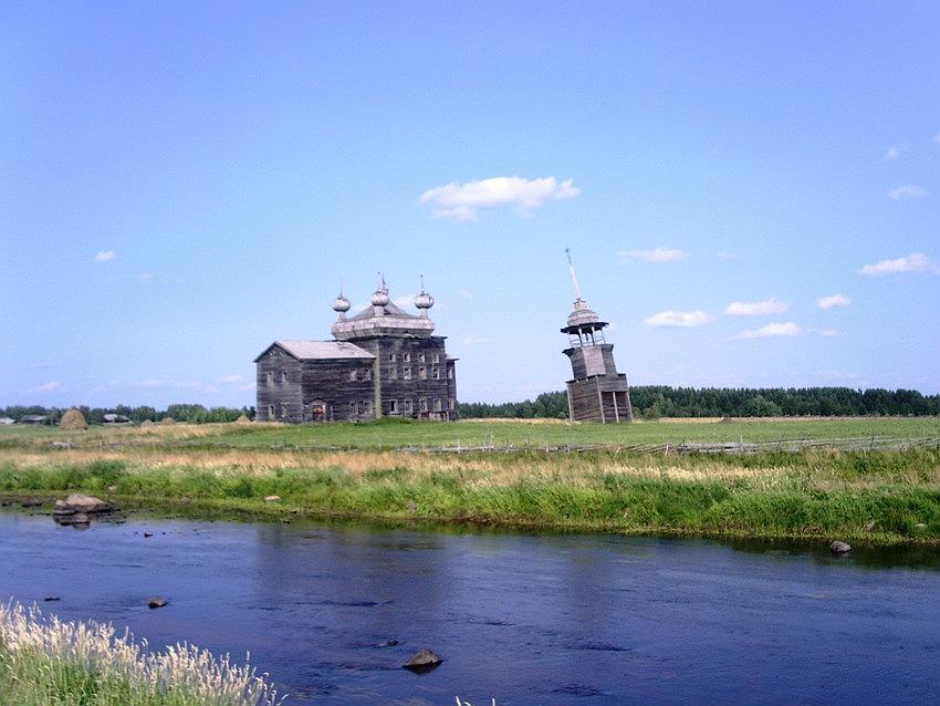 Церковь Спаса Преображения-Нименьга-Онежский район-Архангельская область