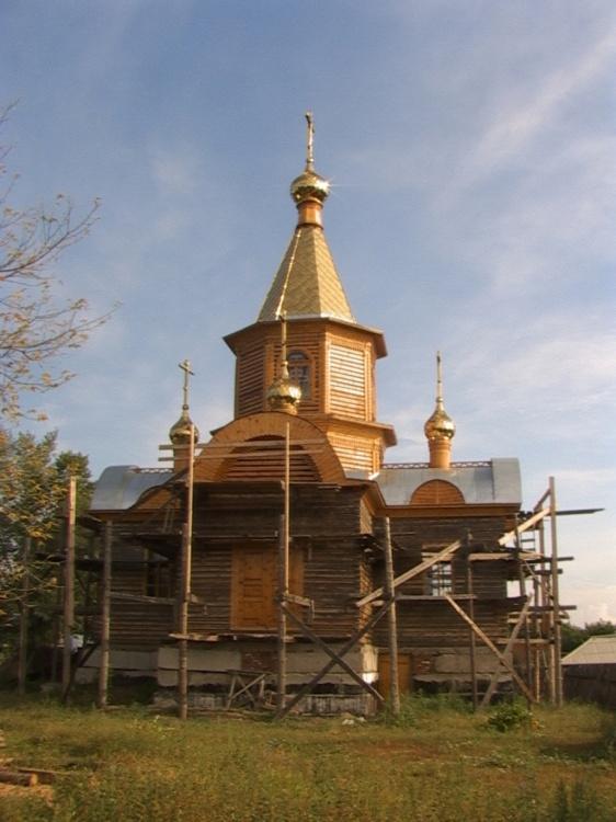 Церковь Спаса Преображения, Шемонаиха