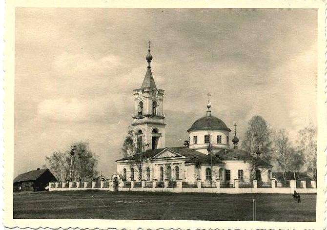 Церковь Михаила Архангела, Щапово, урочище