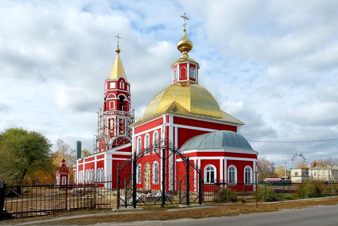 Церковь Бориса и Глеба-Борисоглебск-г. Борисоглебск-Воронежская область