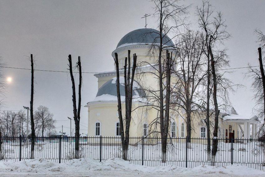 Церковь Спаса Преображения-Белоомут-Луховицкий район-Московская область
