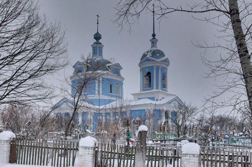 Церковь Успения Пресвятой Богородицы-Белоомут-Луховицкий район-Московская область