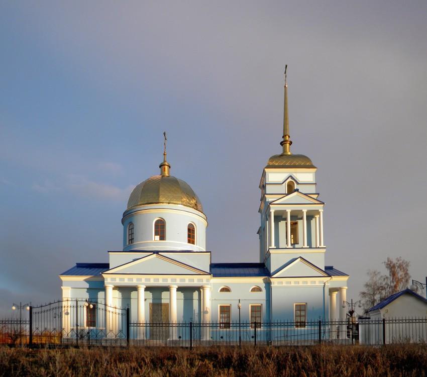Церковь Тихвинской иконы Божией Матери, Ютановка