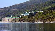 Монастырь Пантелеймона - Афон (Ἀθως) - Айон-Орос (Άγιον Όρος) - Греция