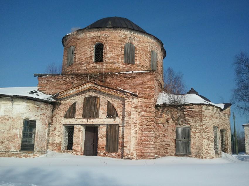 Церковь Михаила Архангела, Выставка (Пачеозерский с/с)