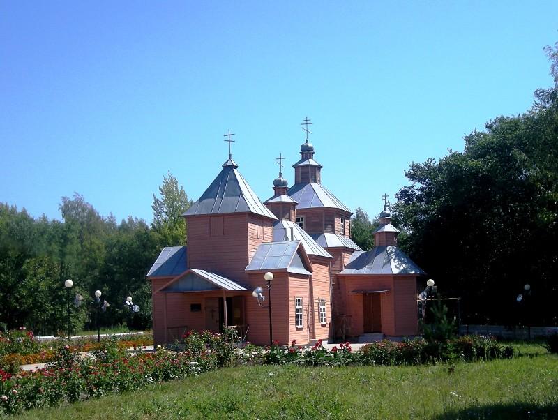 Церковь Илии Пророка, Верхососна
