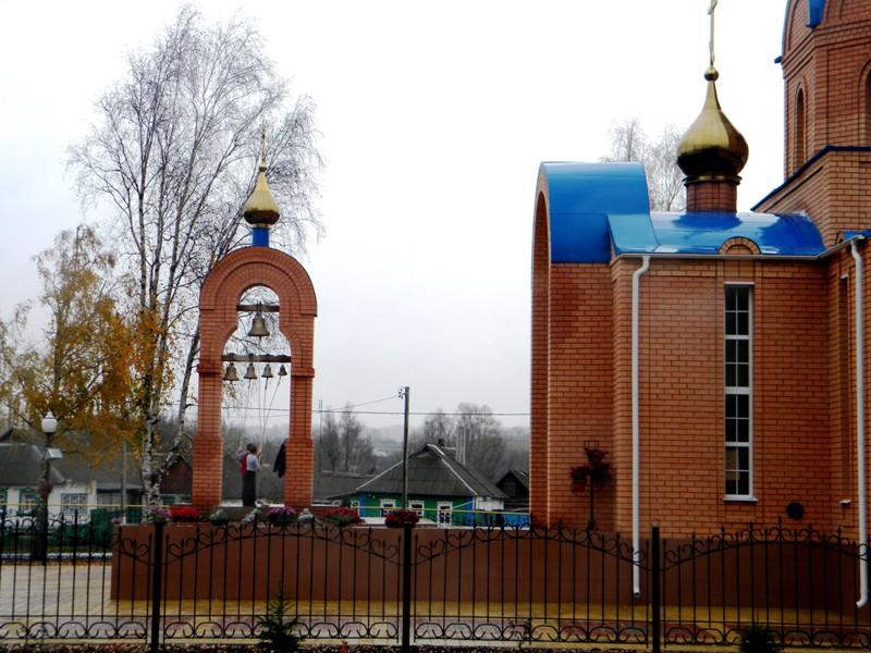 Церковь Покрова Пресвятой Богородицы, Репяховка