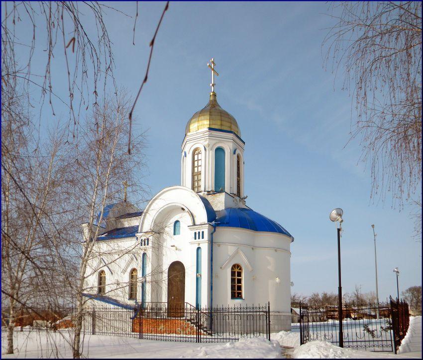 Церковь Казанской иконы Божией Матери, Вязовое