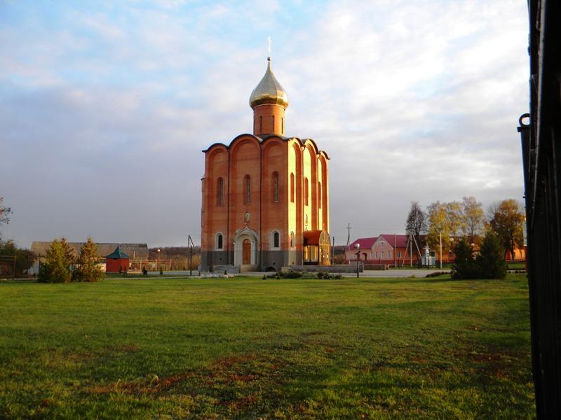 Церковь Космы и Дамиана, Красная Яруга