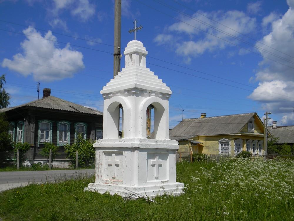 Неизвестная часовня, Токарево