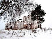 Церковь Василия Великого - Погост (Быстрокурье) - Холмогорский район - Архангельская область