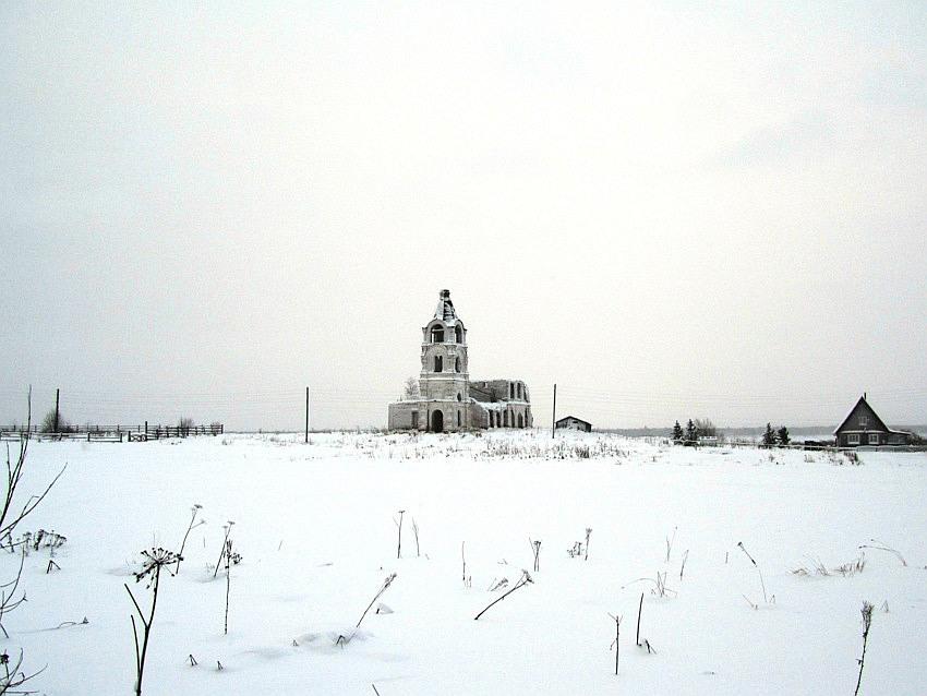 Церковь Сергия Радонежского, Курья (Смольниковская)