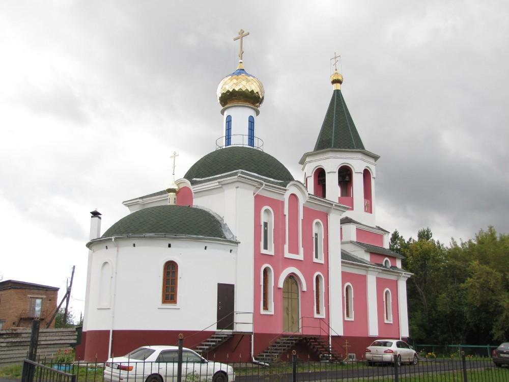 Церковь Иоанна Богослова, Заозёрный