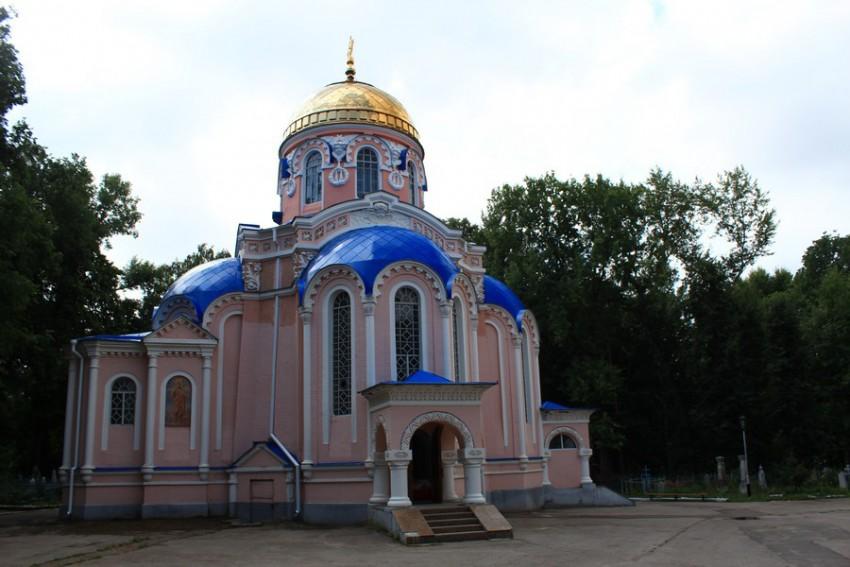 Церковь Воскресения Христова-Ульяновск-г. Ульяновск-Ульяновская область