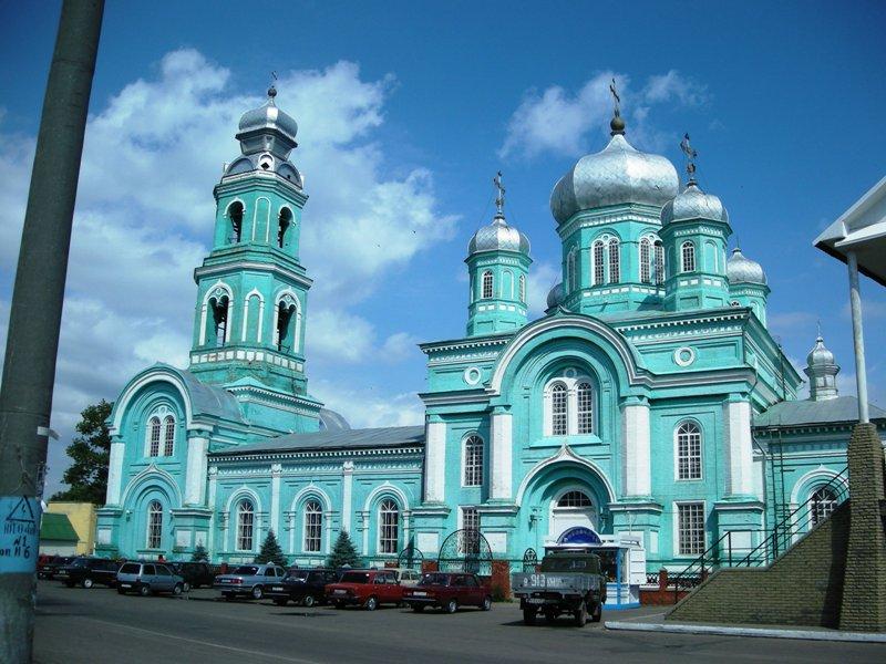 Церковь Троицы Живоначальной-Ровеньки-Ровеньский район-Белгородская область