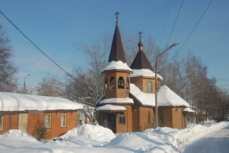 Церковь Александра Невского-Петровское-Ленинский район-Московская область
