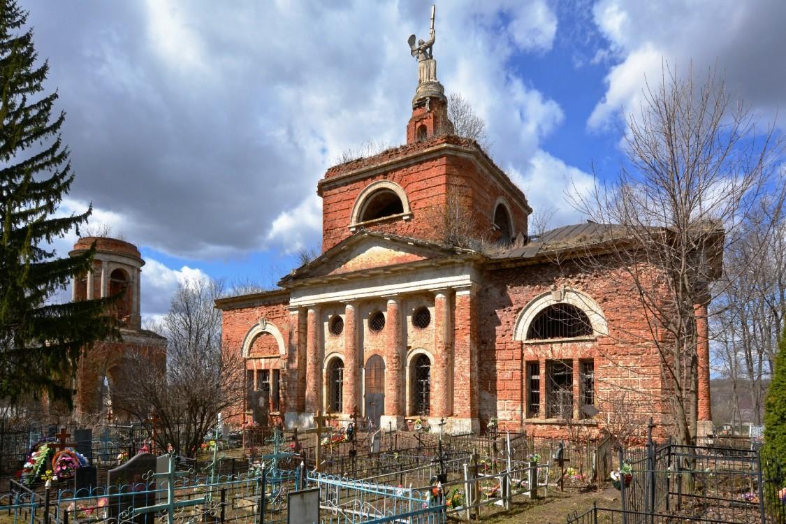 Церковь Спаса нерукотворного Образа-Аксиньино-Венёвский район-Тульская область
