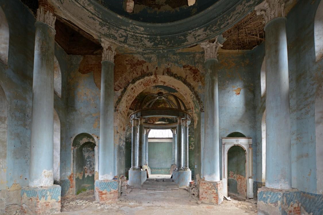 Церковь Спаса Нерукотворного Образа, Аксиньино
