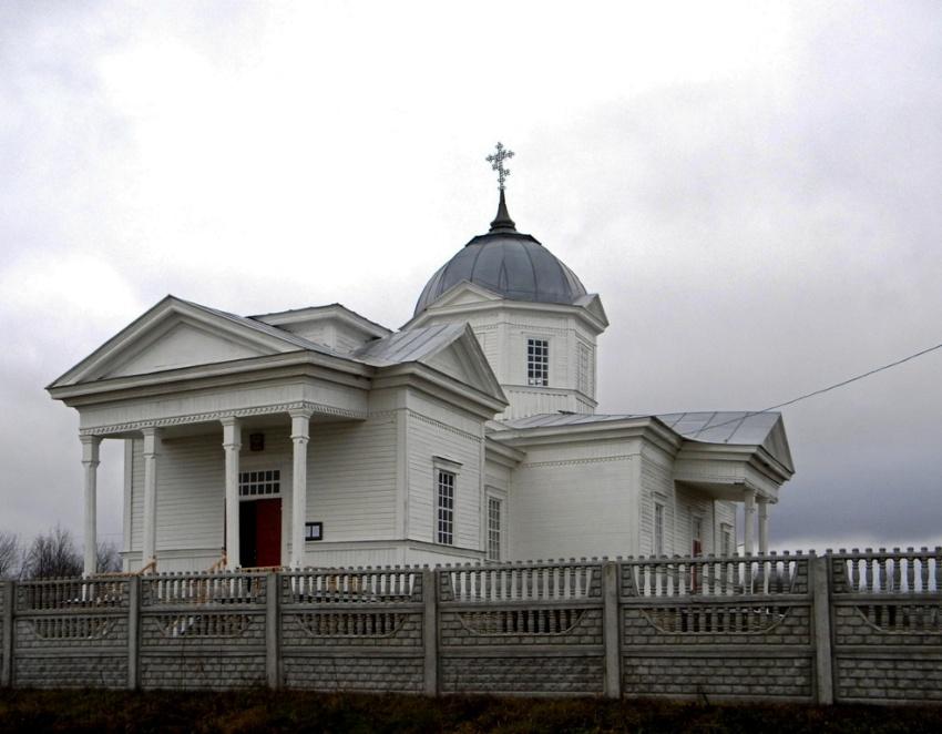 Церковь Вознесения Господня, Романовка
