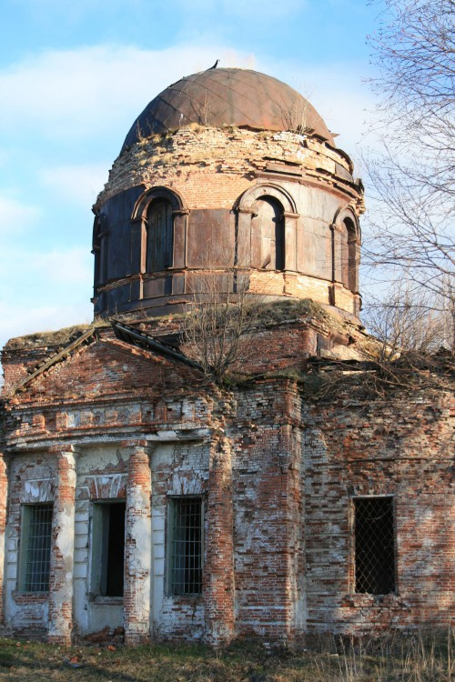 Церковь Богоявления Господня, Перемское
