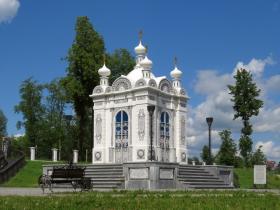 Подбор памятников Добрянка Мемориальный одиночный комплекс с крестом Красноармейск, Саратовская обл.