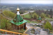 Белая Гора. Николаевский Белогорский монастырь. Часовня Николая Чудотворца на источнике