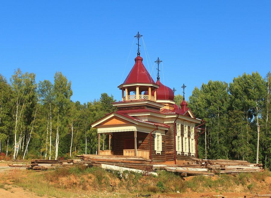 Церковь Троицы Живоначальной из с. Дядино Жигаловского района, Тальцы