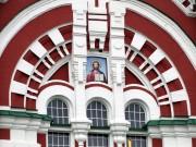 Пантелеимоновский женский монастырь в Феофании. Собор Пантелеймона - Киев - г. Киев - Украина, Киевская область