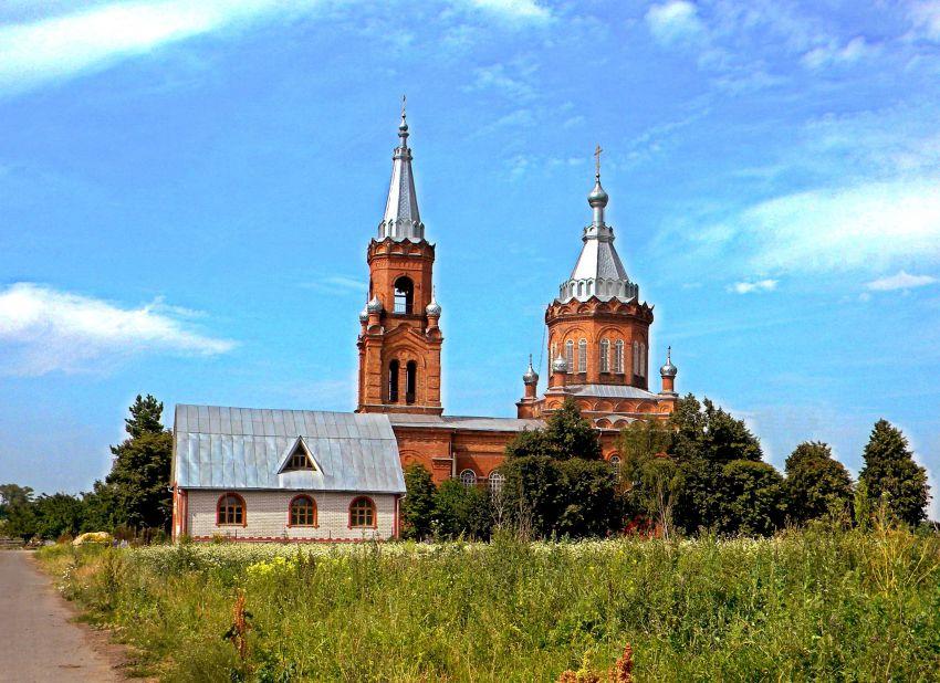 Церковь Илии Пророка-Благодатное-Кореневский район-Курская область