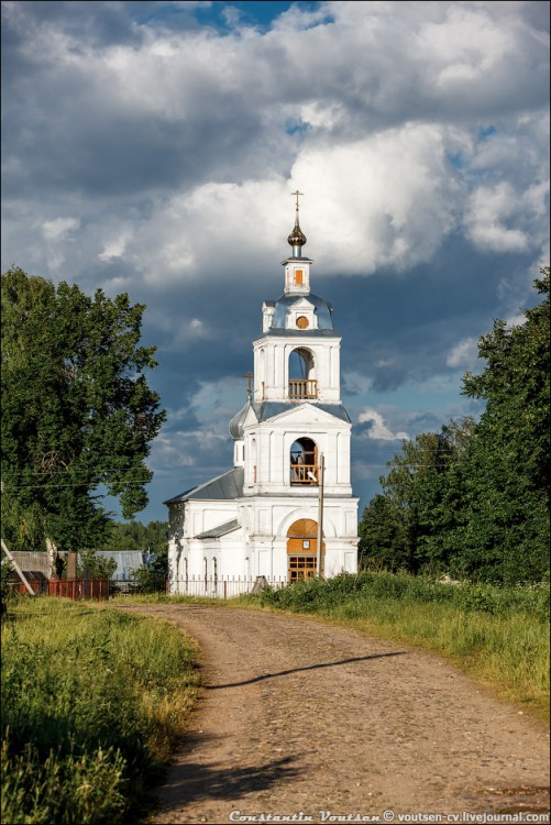 Церковь Димитрия Солунского, Колягино