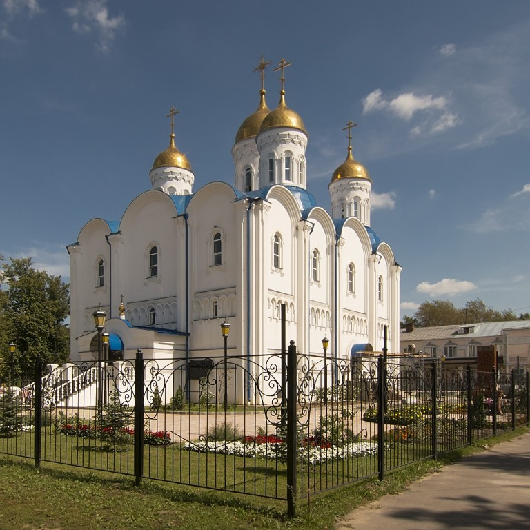 Церковь Иерусалимской иконы Божией Матери, Воскресенск