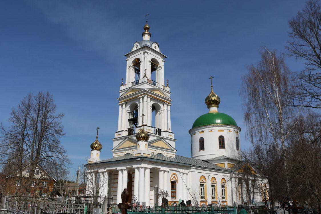 Церковь Троицы Живоначальной, Введенье