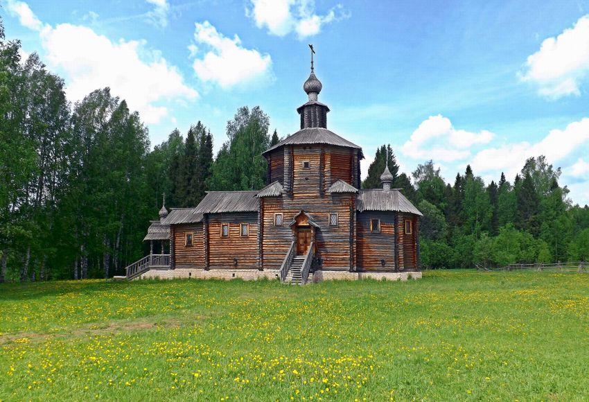 Церковь Иоанна Предтечи, Рябово