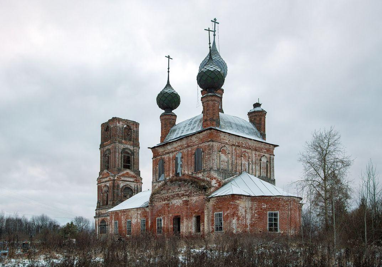 Церковь Смоленской иконы Божией Матери, Борисоглеб (Борисоглебское)