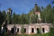 Космодамиановский погост (Андреевское). Троицы Живоначальной, церковь